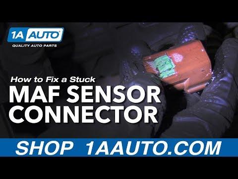How to Fix a Stuck MAF Sensor Connector