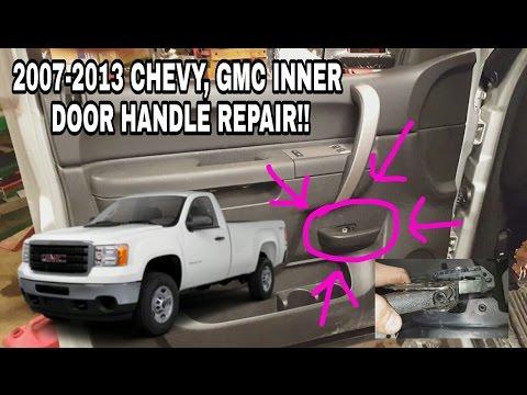 HOW TO REPAIR Instead of REPLACE Inside Door Handle 2007-13 GMC Sierra SL SLE Chevy Silverado LS LT
