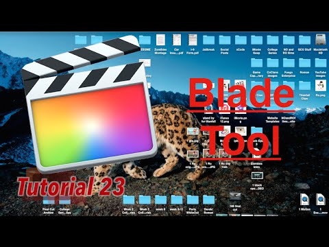 Blade Tool in Final Cut Pro 10.2 | Tutorial 23