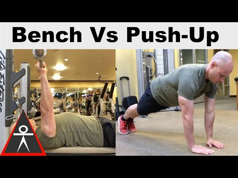 Bench Press vs Push-Ups The Differences you Need to Know