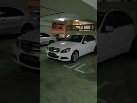 Rich Singapore HDB carpark