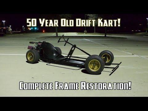 60's Go Kart Frame Restoration!