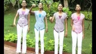 Goan Konkani song on Singapore by girls - Konkani video CD ( Tho Goykar Nhoi ) by Mathew Araujo