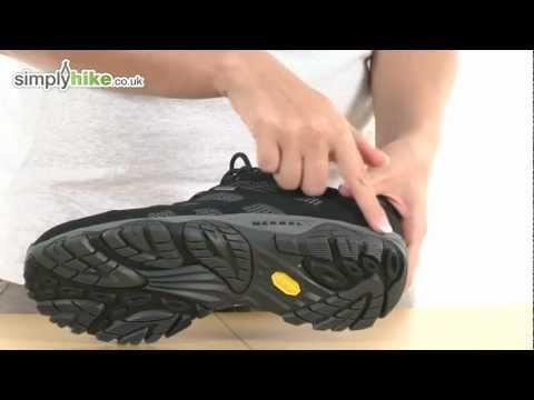 Merrell Mens Moab Gore Tex Walking Shoe - www.simplyhike.co.uk