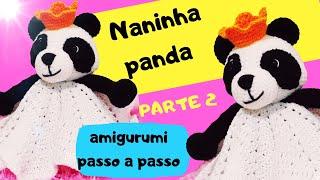 Panda Amigurumi (tutorial) - YouTube | 180x320
