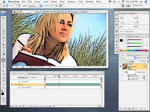 Photoshop CS3 Animated Effect