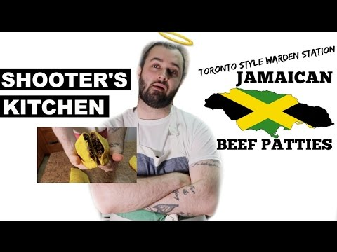 SHOOTER'S KITCHEN: EXTRA LARGE SPICY JAMAICAN BEEF PATTIES!