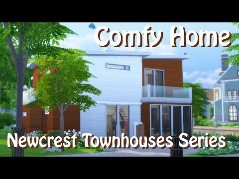 Sims 4 | House Building | Comfy Home (Newcrest Townhouses)