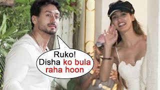 Tiger Shroff Requests Disha Patani To Respect Media At Student Of the year 2 Screening