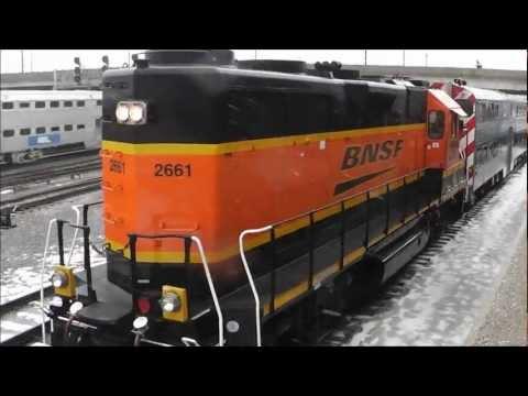 BNSF 2661 (GP39-3) Switching Metra's