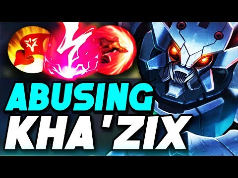ABUSE KHA'ZIX BEFORE THE REWORK!! THIS CHAMPION IS NUTS IN SOLO Q (League of Legends)
