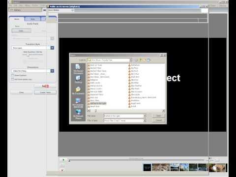 Picasa - Part 2: Creating a movie in Picasa.
