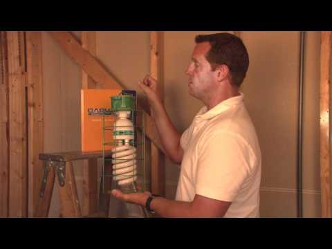 Job Site Work Lights and High Output Compact Fluorescent Bulbs