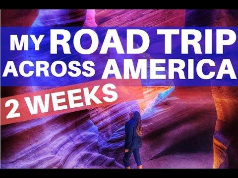 My Road Trip Across America (2 Weeks)