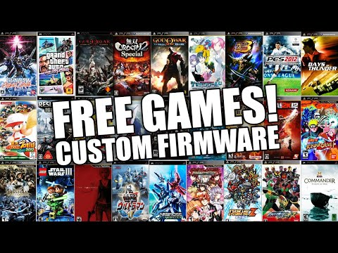 HOW TO GET FREE GAMES ON ALL PSP's VERSION 6.61 (WORKING 2018)