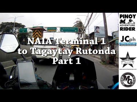 NAIA Terminal 1 to Tagaytay Rutonda Part 1 of 2