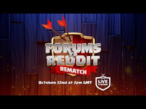 Clash of Clans - Forums vs Reddit REMATCH Livestream!