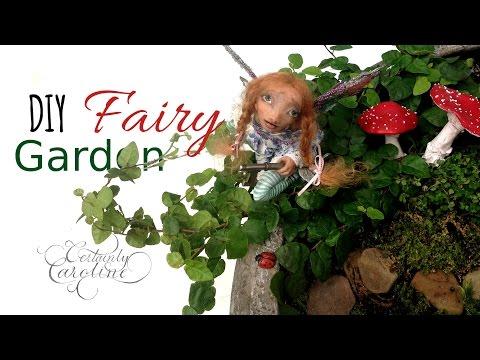 DIY Fairy Garden; Plants, Accessories, & Arrangement