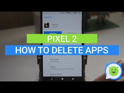 Pixel 2: How to delete apps