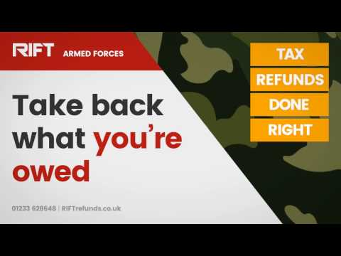 RIFT Refunds - Armed Forces Tax Refunds