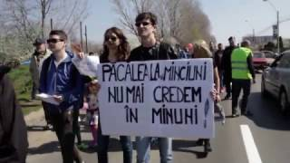 Protest în Prelungirea Ghencea - vor infrastructură civilizată