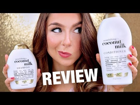 OGX Coconut Milk Shampoo & Conditioner Review