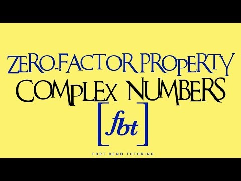 Solving Quadratic Equations: The Zero-Factor Property Pt. 3 (Complex Numbers = AP Much?) [fbt]