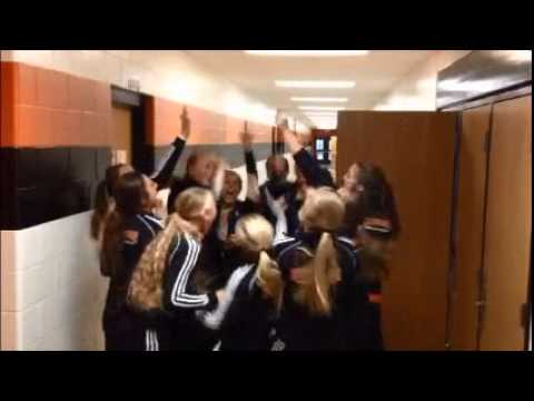 Volleyball team pre-game chant