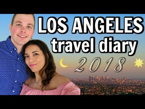 LOS ANGELES TRAVEL VLOG!!