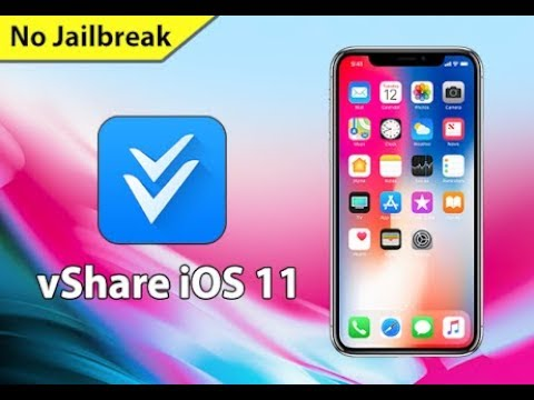 How to download Vshare in any iphone IOS11 without jailbreak