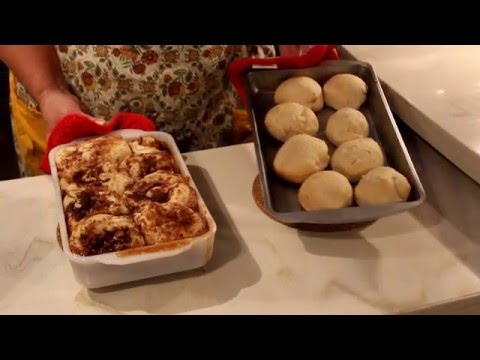 How To Make Cinnamon Pecan Rolls and Dinner Rolls in the RV