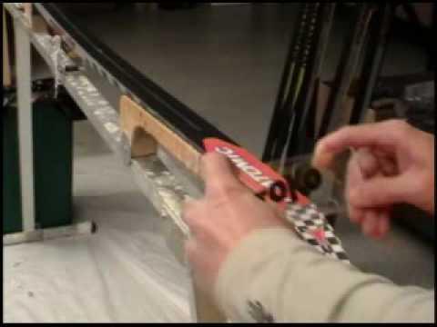 Applying Hard Wax to Cross Country Skis