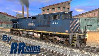 Trainz A New Era [ ThrottleNine Trainz Add-On ] - CP AC4400CW (FreeWare)