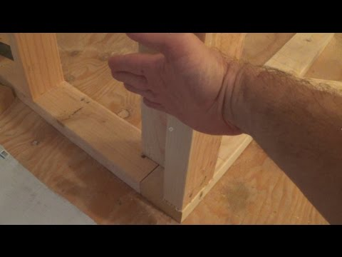 How to Frame a Wall Corner