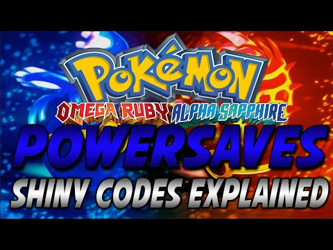ORAS Powersaves Update: Shiny Codes Explained [TID/PID]