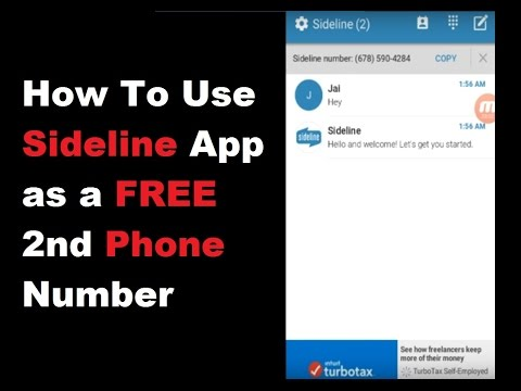 How to Setup and Use Sideline as a Free 2nd Phone Number