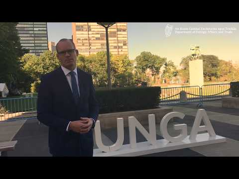 Minister Coveney UN General Assembly Visit September 2017