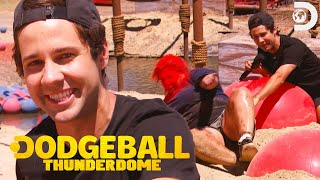 David Dobriks Vlog Squad Get Blasted On The Dodgeball Thunderdome Course Mp3