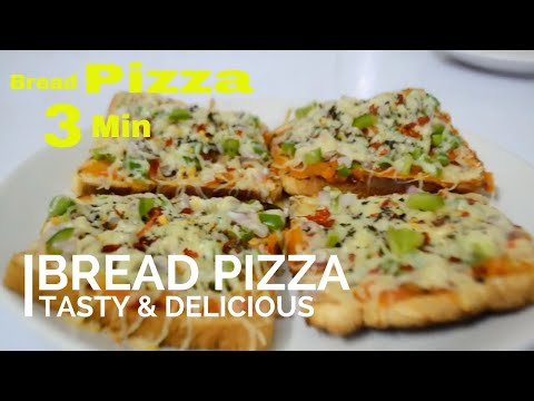 Bread Pizza | How to make Bread Pizza Without oven | Homemade Pizza Malayalam