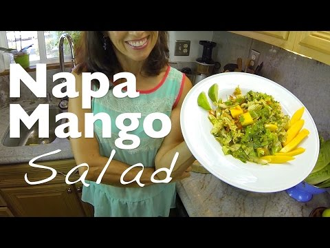 Napa Mango Salad with Thai Dressing