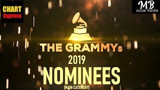 Download Grammy's 2019 - Nominees | The 61st Grammy Awards 2019 | Feb 10th, 2019 | ChartExpress Video