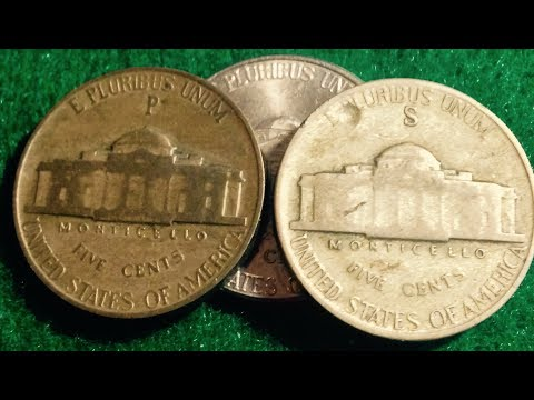 High & Lows Of 1940s Jefferson Nickels
