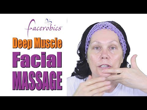 How to Get a Younger Looking Skin Naturally with this Deep Muscle Full Face Massage Routine