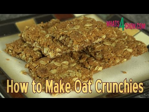 How to Make Oat Crunchies - Delicious Oat & Coconut Crunchies at Home