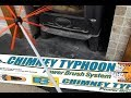 HOW TO Clean Your Log Burner Flue with CHIMNEY TYPHOON