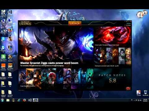 How to fix League Of Legends Black Launcher Screen !