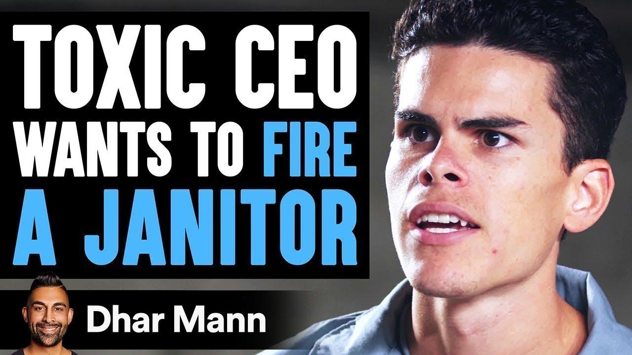 CEO Threatens To Fire Janitor, Son Teaches Him A Lesson | Dhar Mann