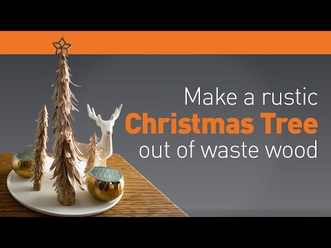 How To: Make a Simple Christmas Tree Out of Wood