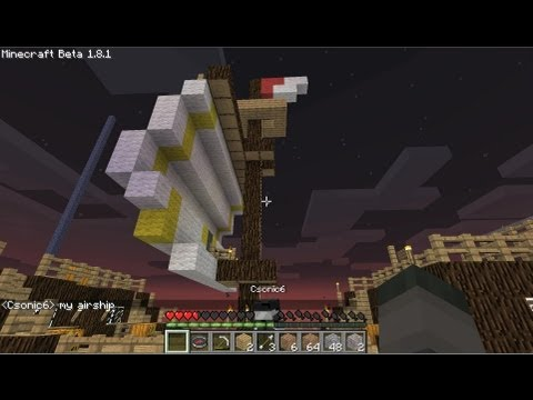 Floating Pirate Ship - Minecraft