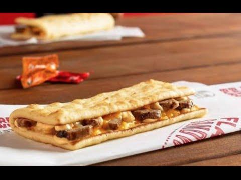 Tacobell Flatbread sandwich taste test review